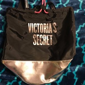 Victoria Secret Drawstring Bucket Backpack